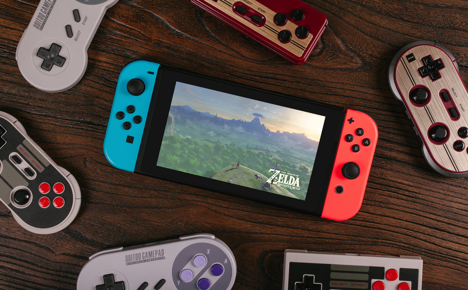 8bitdo Nintendo Switch Christopher Taber Console With Zelda Bow 1 2